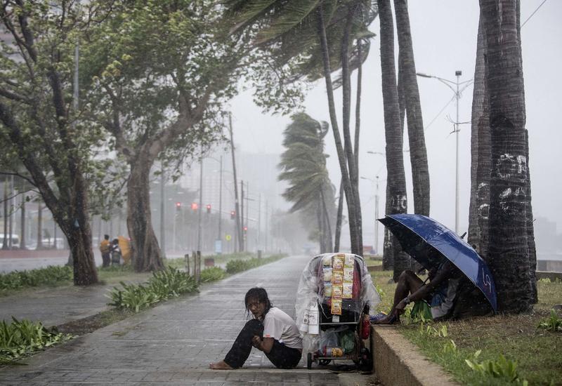 На Филиппинах из-за тайфуна эвакуировали более пяти тысяч человек