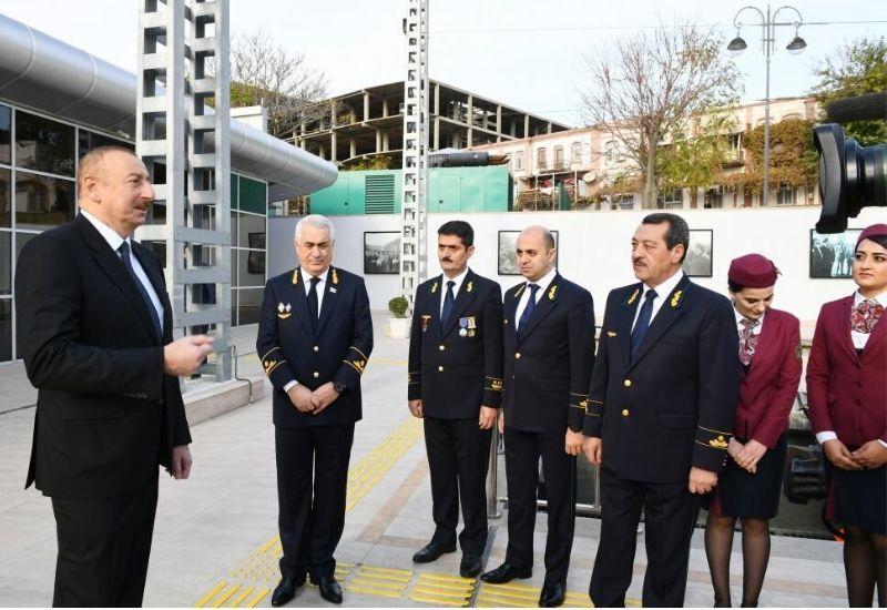 Президент Ильхам Алиев: Азербайджан стал одним из международных транспортных центров