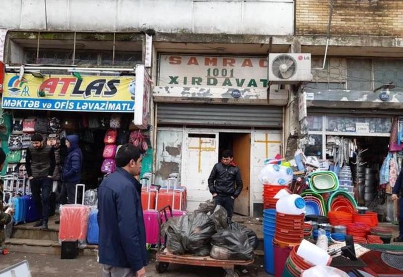 На крупном рынке в Баку выявлено мясо неизвестного происхождения