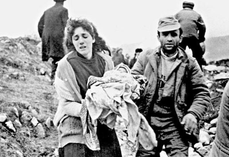 Ужасы устроенной армянами резни в Ходжалы на страницах американской печати