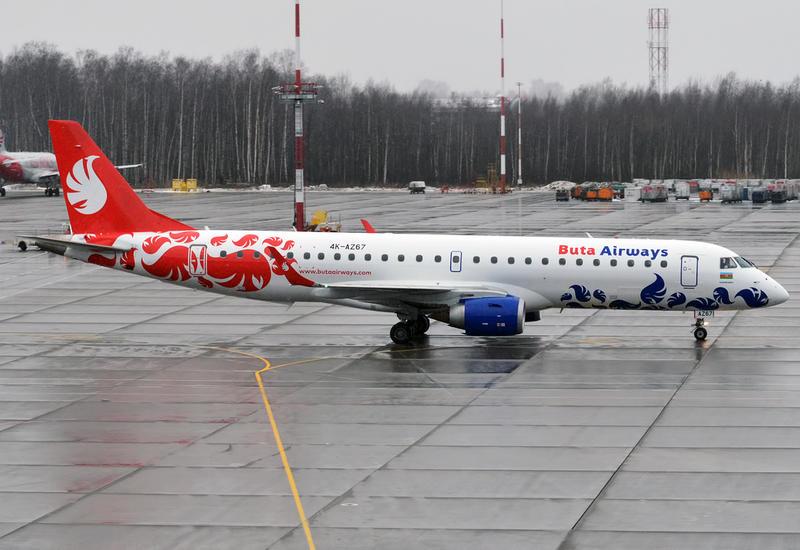 Самолет Buta Airways экстренно вернулся в аэропорт из-за ухудшения состояния пассажира