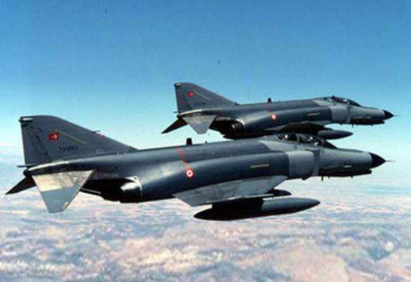 ВВС Турции уничтожили группу террористов в Ираке