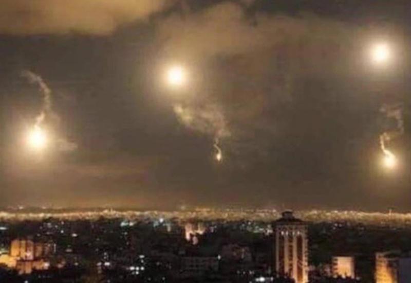 Сирийские ПВО отразили ракетную атаку на Дамаск