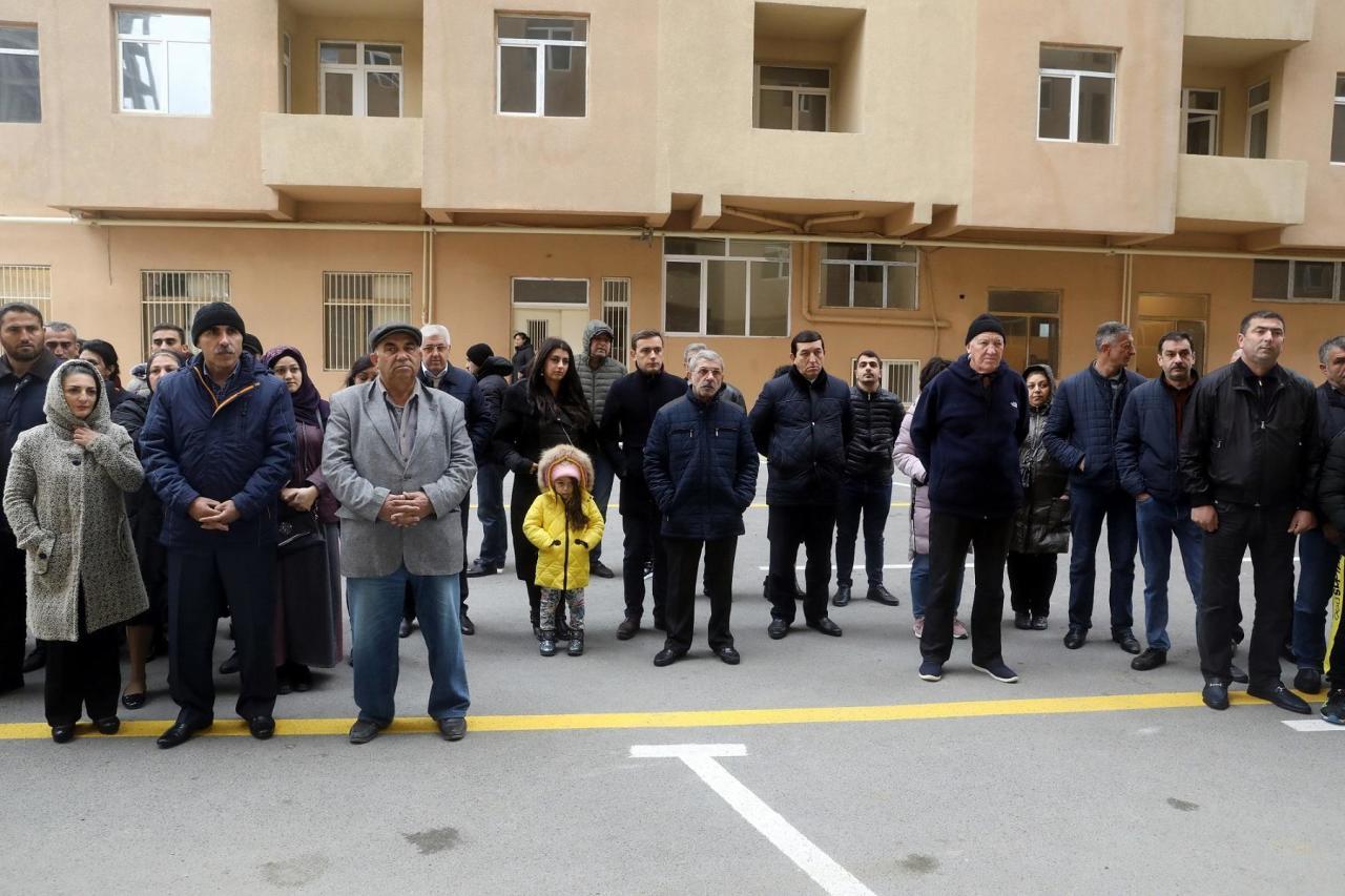 Семьи шехидов, инвалиды Карабахской войны и событий 20 января получили квартиры