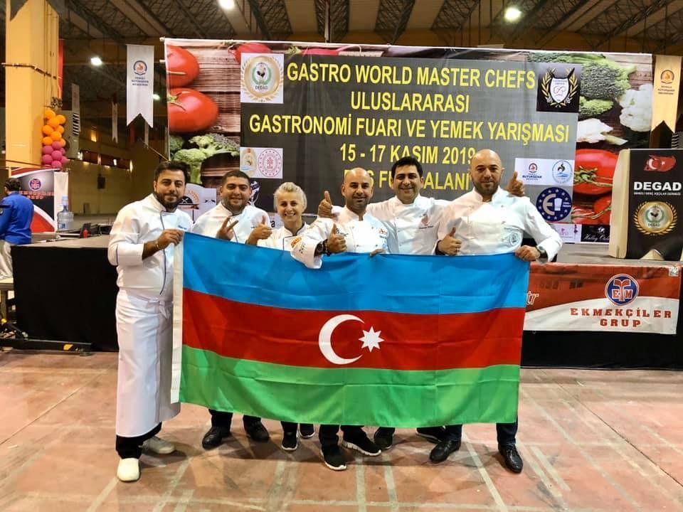 Азербайджанские шеф-повара стали лучшими на Международном кулинарном чемпионате