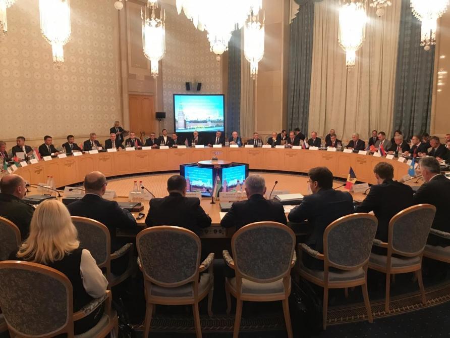 Рамиль Усубов принял участие в заседании секретарей советов безопасности стран СНГ в Москве