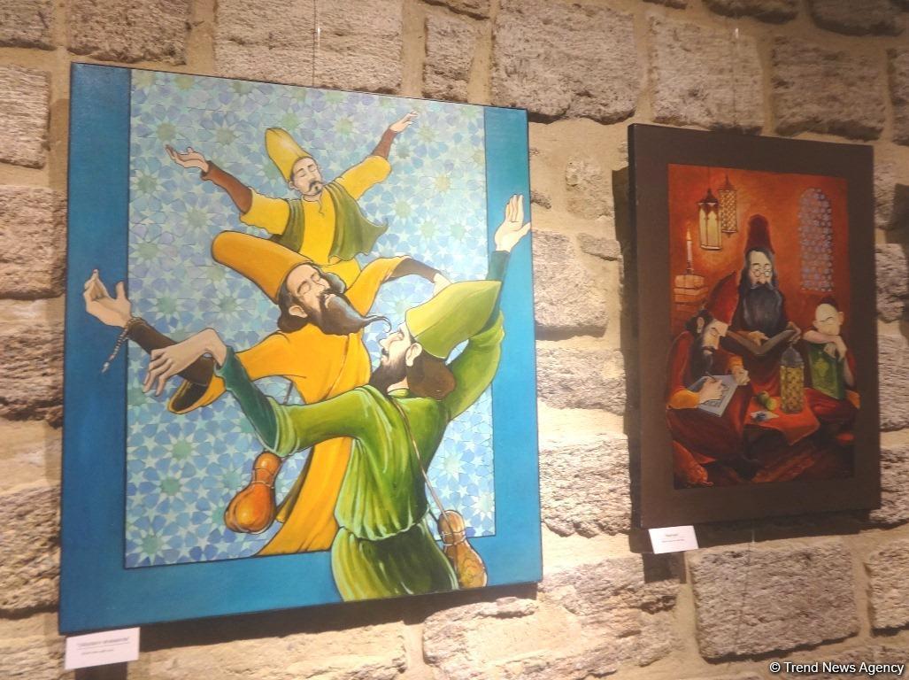 В Баку открылась выставка талантливого азербайджанского художника Зохраба Саламзаде