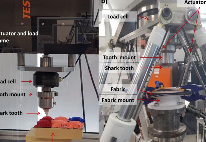 В Австралии испытали материал для защиты от укусов акул