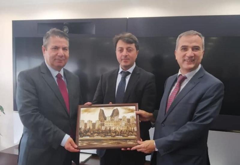 Председатель азербайджанской общины Нагорного Карабаха встретился с замглавы МИД Турции
