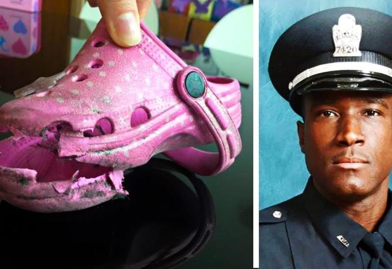 Полицейский задержал девочку за воровство обуви, но то, что он узнал дальше, невероятно тронуло его