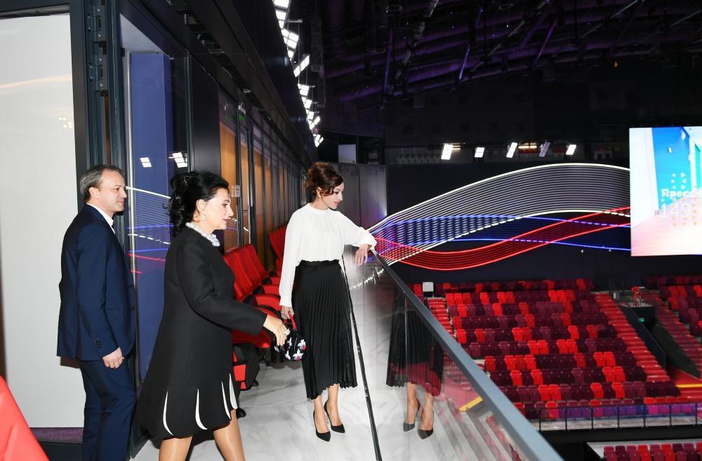 Российские телеканалы распространили репортажи об официальном визите Первого вице-президента Азербайджана Мехрибан Алиевой в эту страну