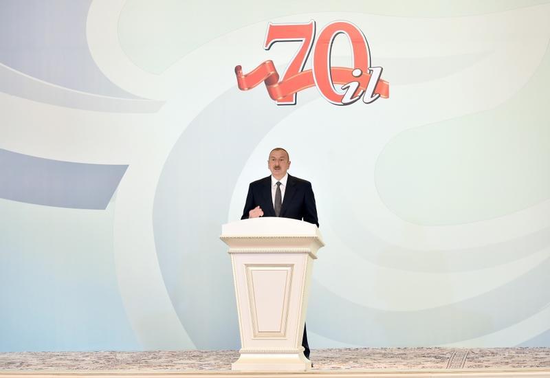 Президент Ильхам Алиев: Проводимая Гейдаром Алиевым политика сегодня живет и обогащается