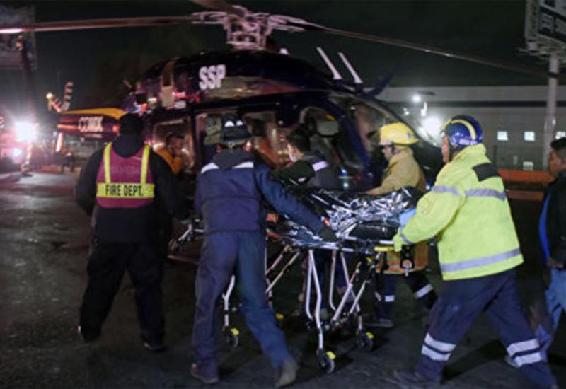 В Мексике прогремел сильный взрыв, много раненых