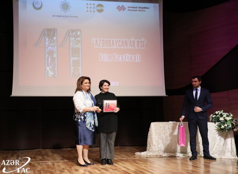 В Центре мугама состоялся финал кинофестиваля «Азербайджанская семья»