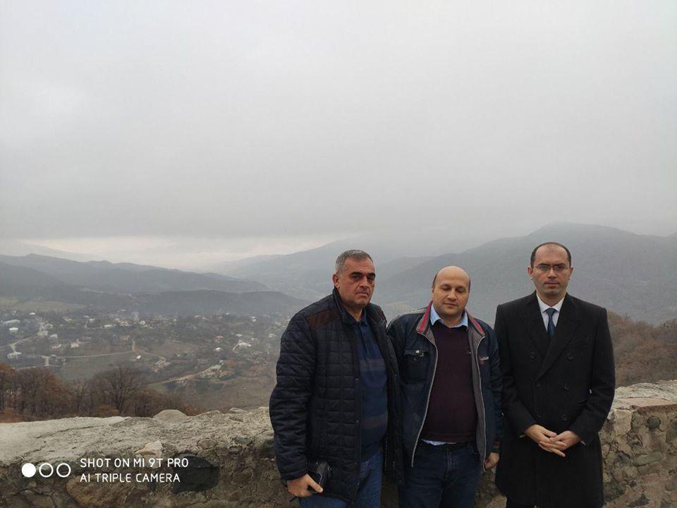 Азербайджанские журналисты посетили Армению и оккупированный Карабах