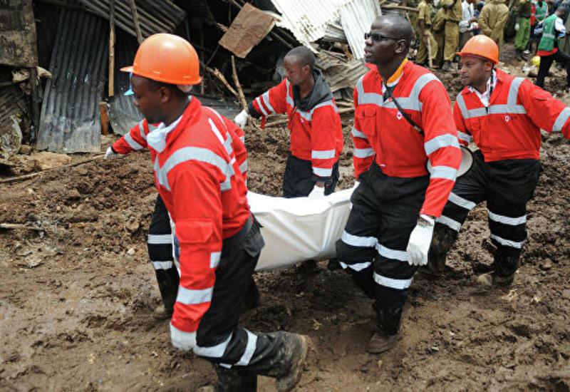 В Кении при сходе оползня погибли около 40 человек