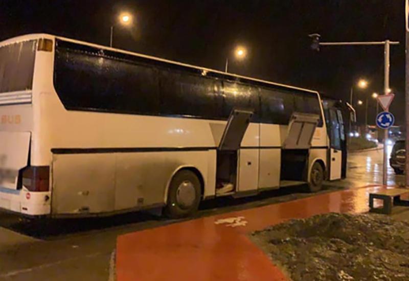 В Грузии задержали армянский автобус с запрещенным грузом