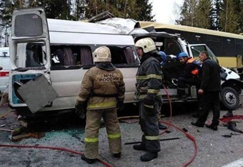 Жуткая авария в России, много погибших