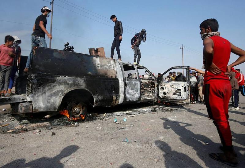 Более 110 человек погибли в ходе акций протеста в Ираке