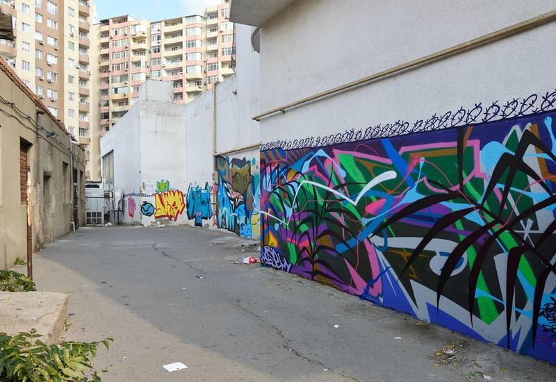 Стрит-арт в Баку в блоге @bakustreets_life