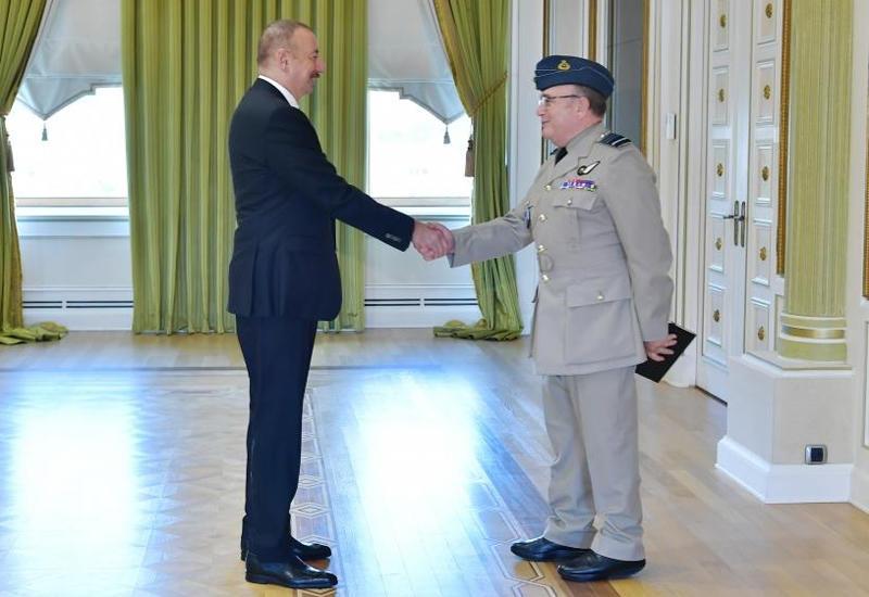 Президент Ильхам Алиев принял делегацию во главе с председателем Военного комитета НАТО