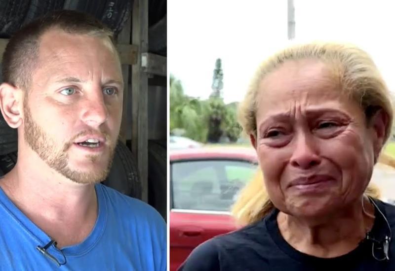 Механик видел эту женщину, когда она проходила возле его работы. Через месяц её жизнь изменилась