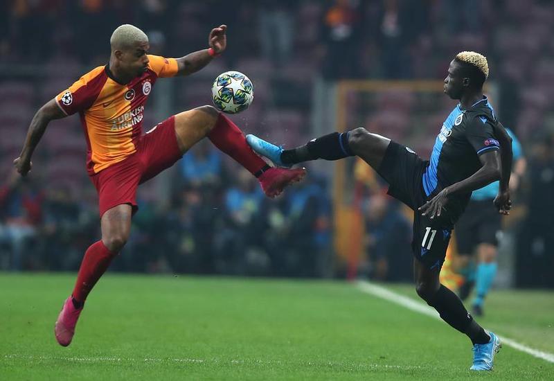 «Галатасарай» не удержал победный счет в матче с «Брюгге»