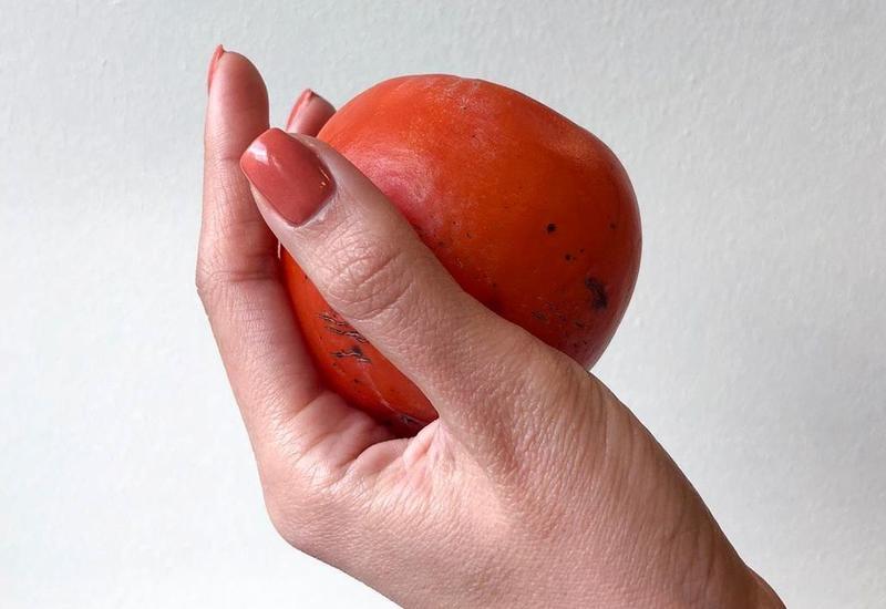 Хурма - как арт-объект в руках Шафиги Эльшан