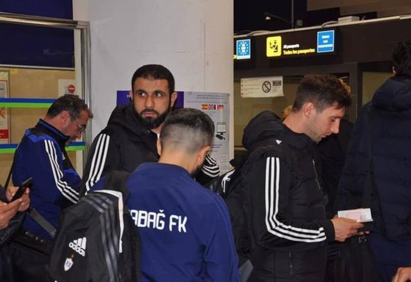 """""""Карабах"""" прибыл в Испанию"""