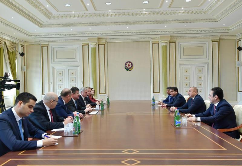 Президент Ильхам Алиев принял делегацию во главе с министром иностранных и европейских дел Словакии