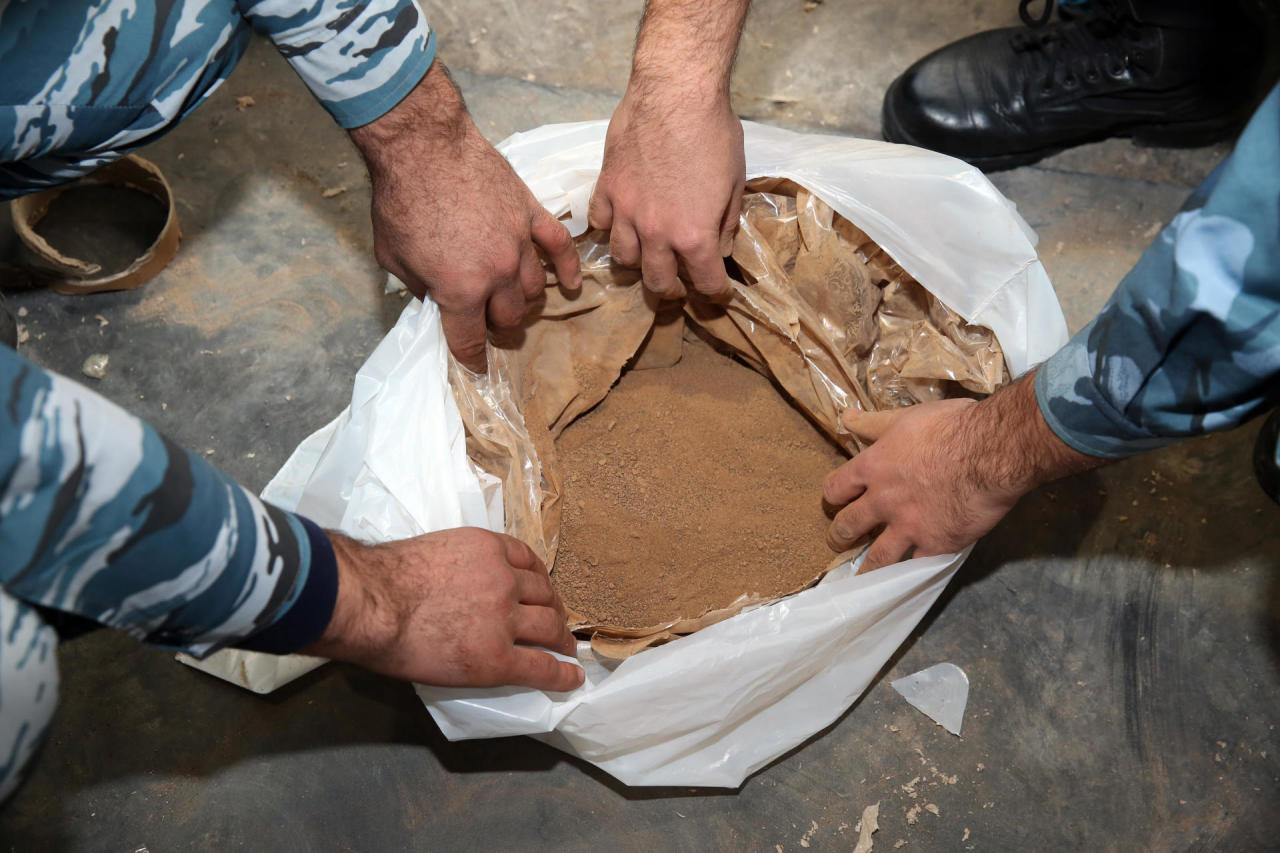 Пресечена попытка транзита крупной партии наркотиков из Ирана в Украину через Азербайджан