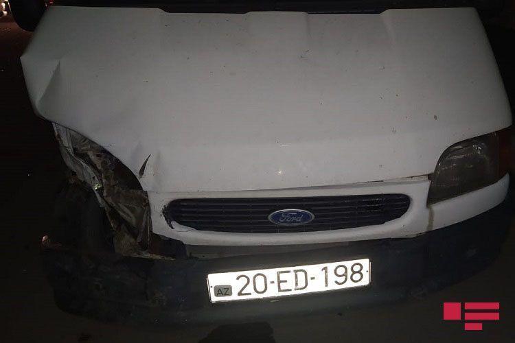 Цепная авария в Гяндже: столкнулись 5 автомобилей, есть пострадавшие