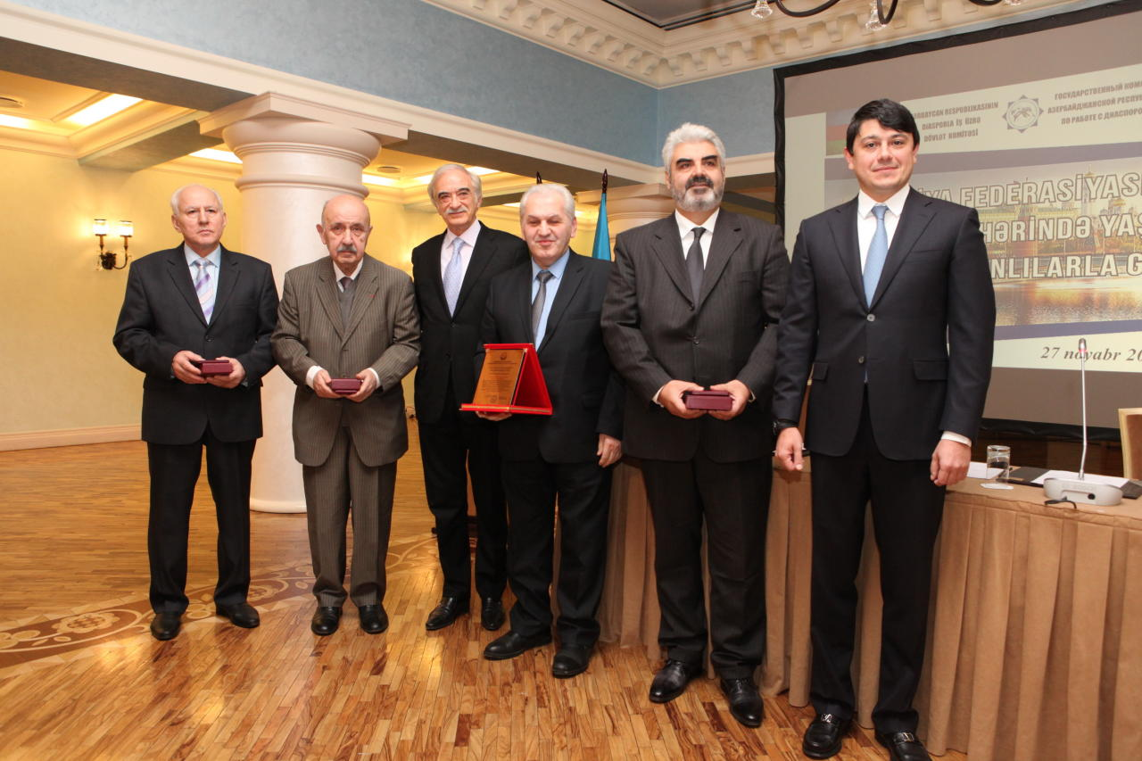 Госкомитет по работе с диаспорой Азербайджана провел ряд переговоров в России