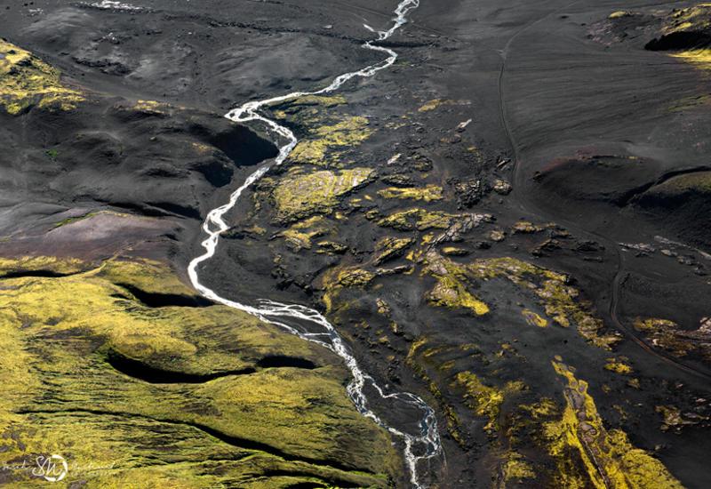 Невероятные виды Исландии из самолета