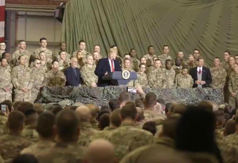 Трамп тайно прибыл в Афганистан на переговоры с талибами