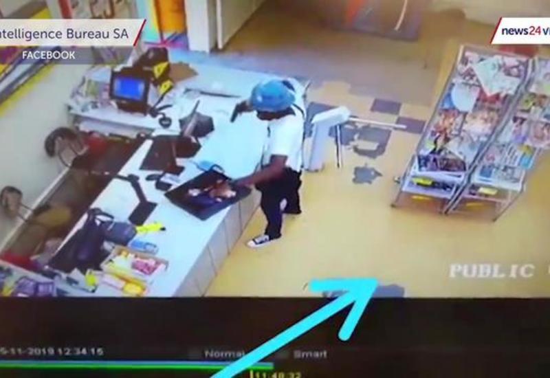 У преступника украли деньги прямо во время ограбления