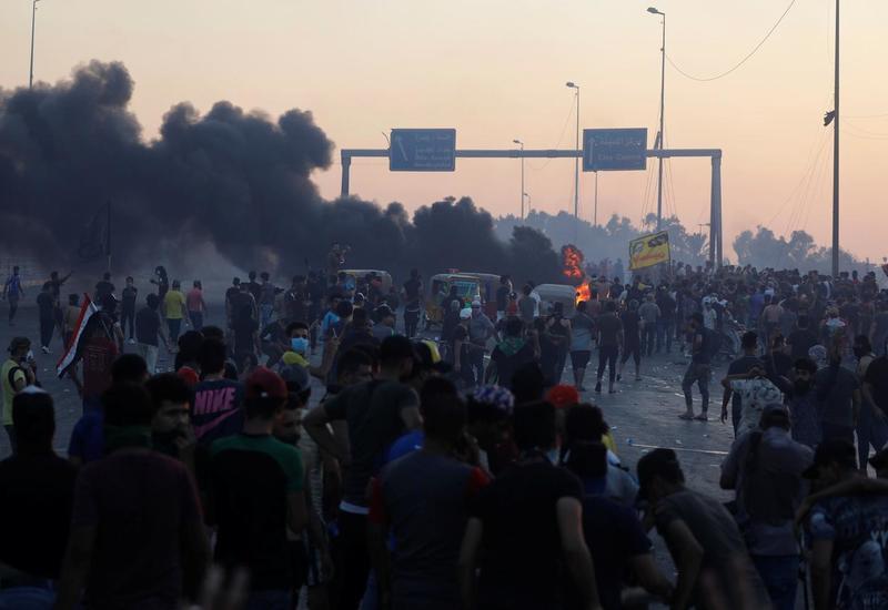 Число погибших за четверг в стычках с полицией в Ираке выросло до 45