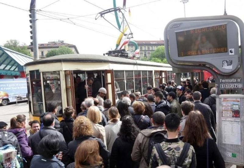 В Италии проходит забастовка железнодорожников