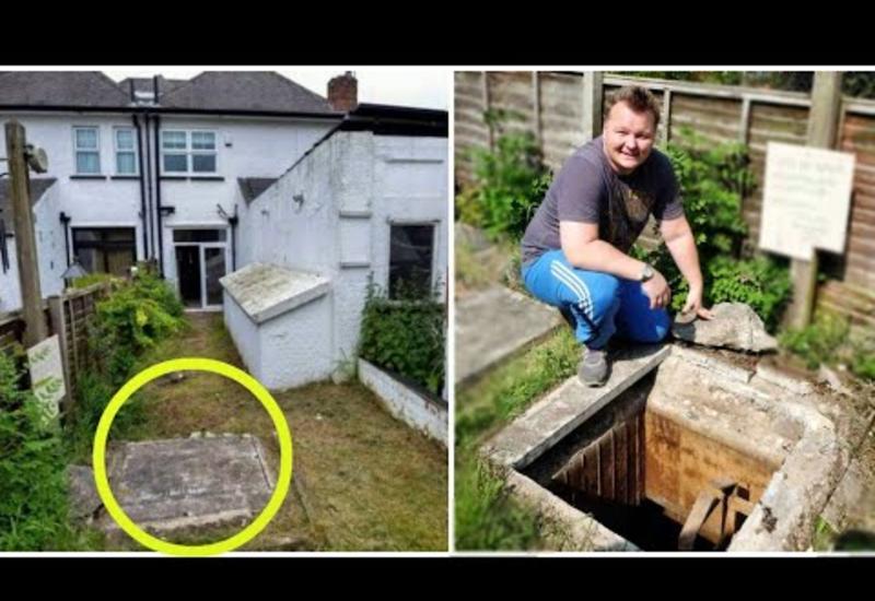 Он жил в доме 10-лет и даже не догадывался о такой находке: думал, это просто канализация
