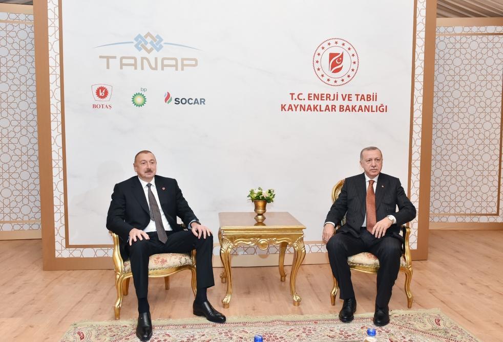Состоялась встреча Президента Ильхама Алиева и Президента Реджепа Тайипа Эрдогана