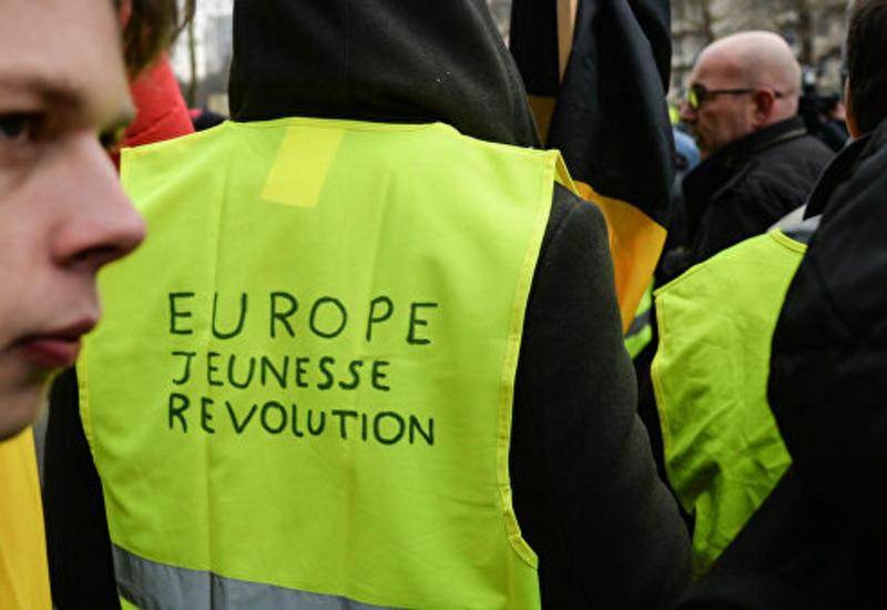 """В Брюсселе пройдет акция """"Желтых жилетов"""""""