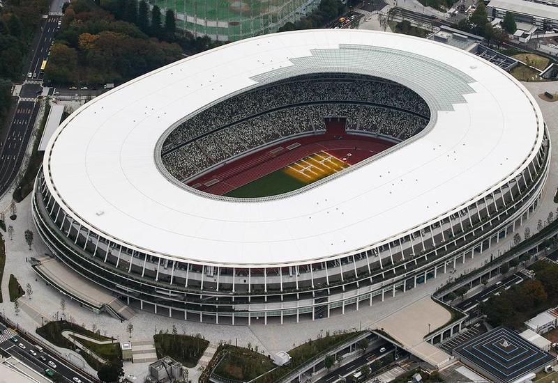 В Токио введен в эксплуатацию новый Олимпийский стадион