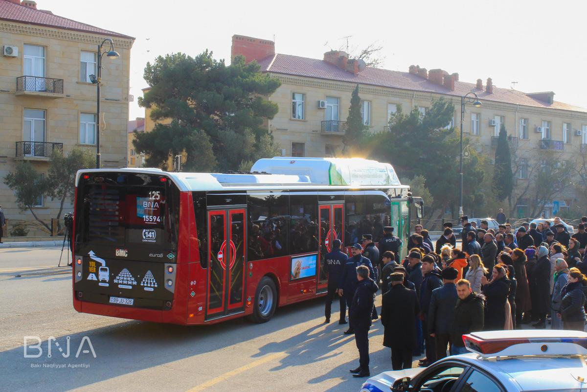 На улицах Баку появятся новые автобусы