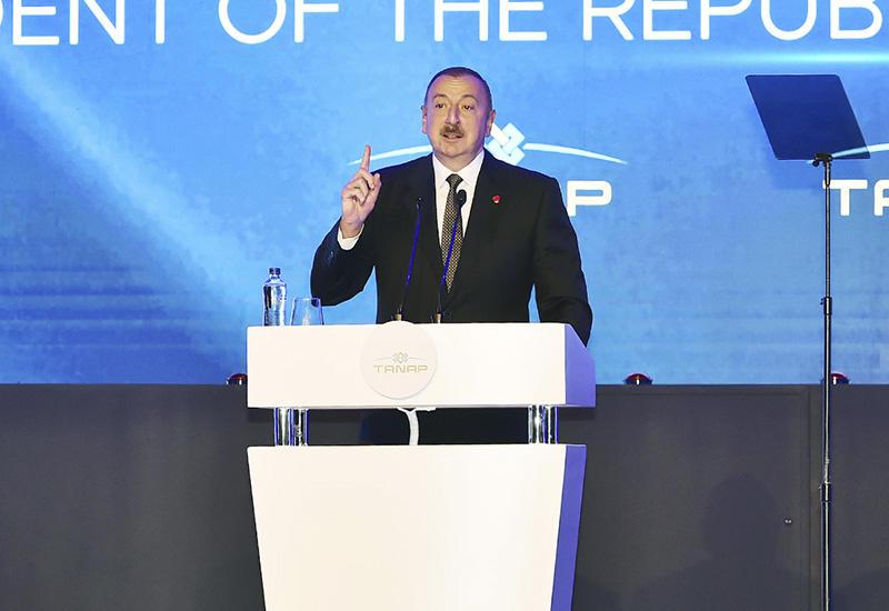 Президент Ильхам Алиев: Южный газовый коридор создаст мосты между странами и откроет путь к еще большему взаимопониманию