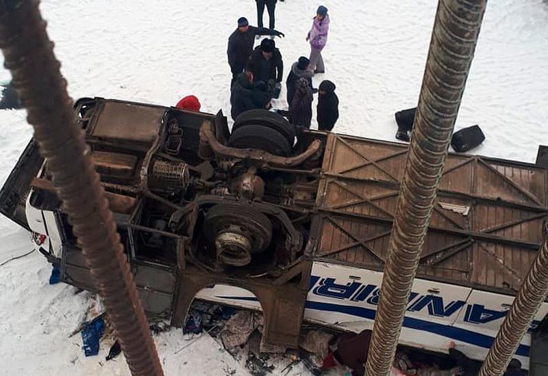 Названа причина ДТП с пассажирским автобусом в России