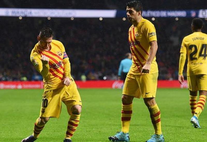 «Барселона» благодаря чудо-голу Месси обыграла на выезде «Атлетико»