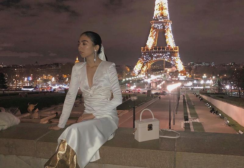 Азербайджанский модный блогер в Париже