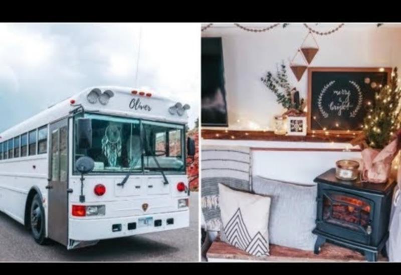 Променяли дом и бизнес на кочевую жизнь в переделанном автобусе