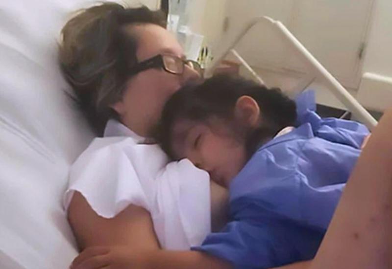 Мать, находящаяся в коме, проснулась после крика дочери