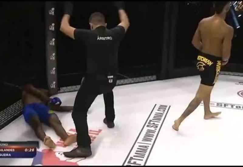 """Боец MMA """"убил"""" соперника ударом ногой в голову"""